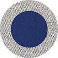 Heather Grey/Deep Royal Blue