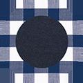 White Blue Check/Mid Navy